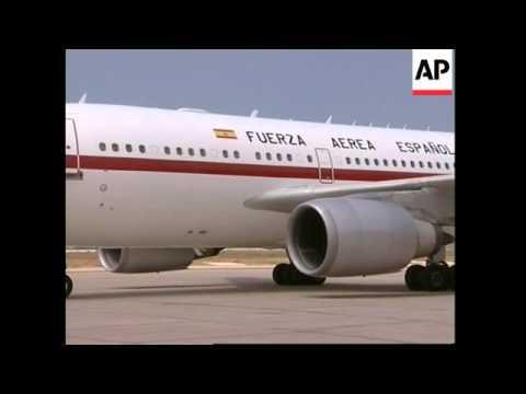 UN Sec-Gen Annan has arrived in Beirut at the start of Mideast tour