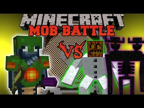 TRITON VS ENDER TITAN, MUTANTS, & WALKER KING - Minecraft Mob Battles - Mods
