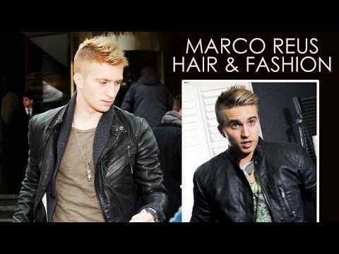 MARCO REUS Haircut tutorial and Fashion