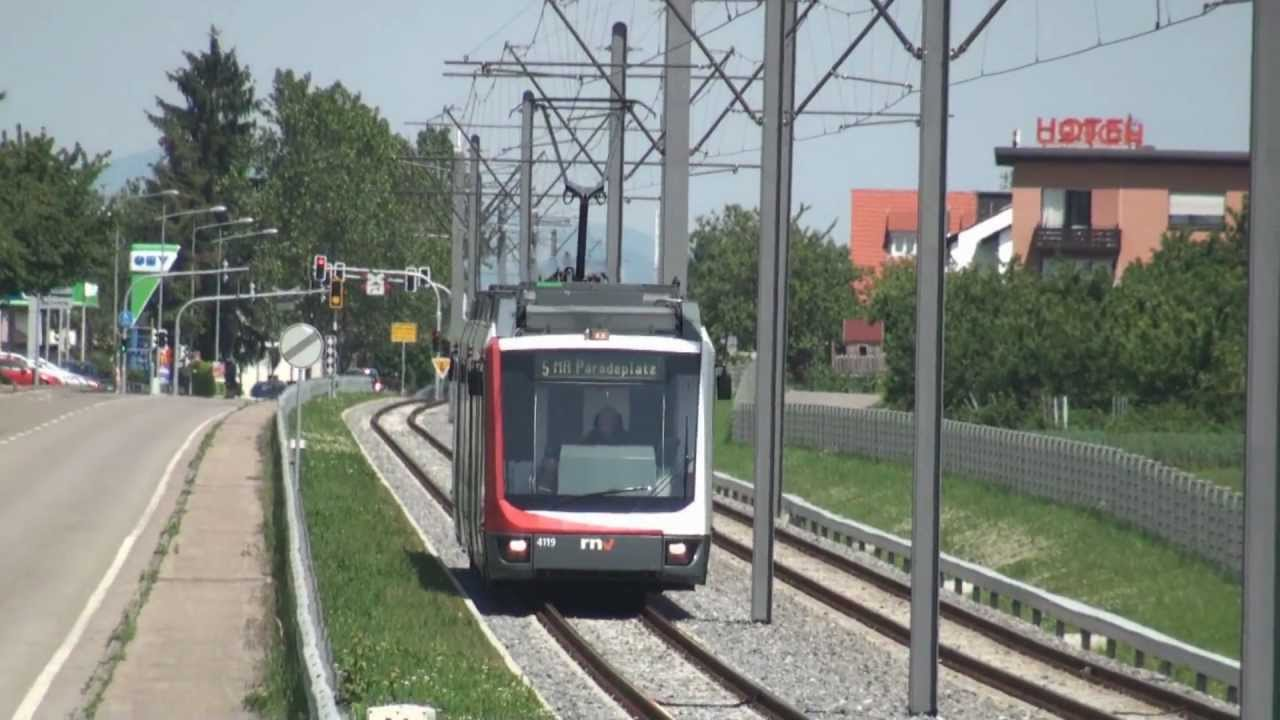 Straßenbahn Mannheim  Heidelberg  Der Typ V6  YouTube -> Tv Lowboard Quoka Mannheim