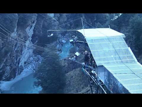 Tony's Shotover Canyon Swing, Queenstown, New Zealand (viewing platform)