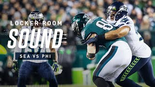 Seahawks Defense Reacts To No Touchdowns Allowed | Locker Room Sound