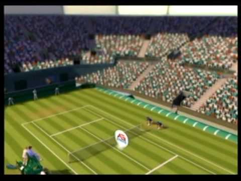 Grand Slam Tennis- Roger Federer vs. Stefan Edberg, part 1