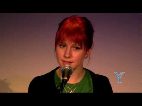 Paramore - The Only Exception (Live @Y100 Miami Underground 2010)