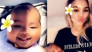 Khloe Kardashian Receives BACKLASH For Baby True Post!