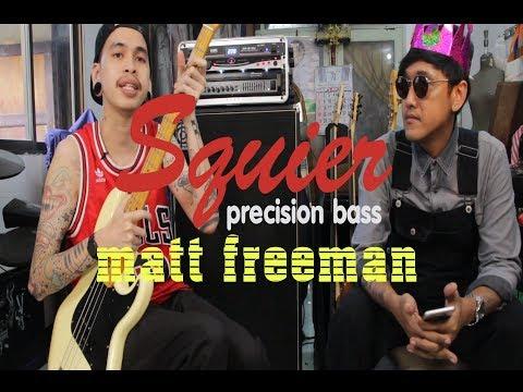 He That's Reviews Ep3 Squier precision bass Matt freeman (custom)