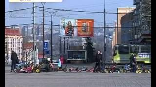 В Донецке вновь заработала тяжелая артиллерия - (видео)