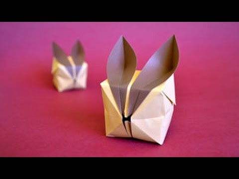Origami Puffy Bunny Instructions: www.Origami-Fun.com