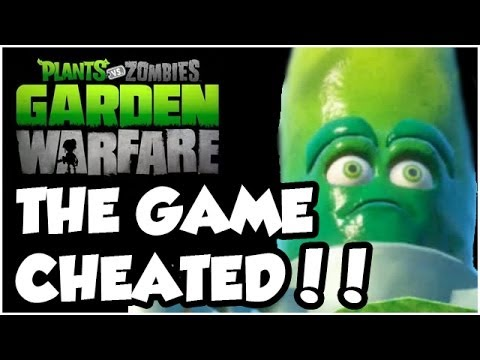 Plants vs. Zombies Garden Warfare - THE GAME CHEATS US!!! Gameplay Walkthrough (Xbox One HD)