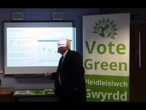 Gareth Swansea Green Party on climate change Branwen 2016 SGGW