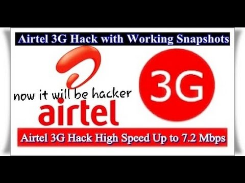 How to hack Airtel 3G INTERNET