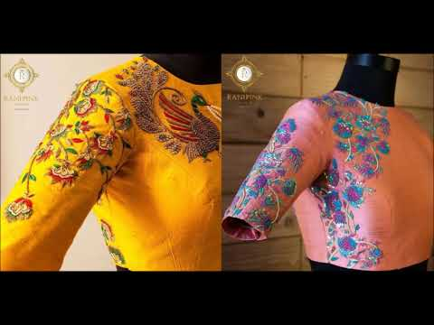 Stunning designer blouse collection
