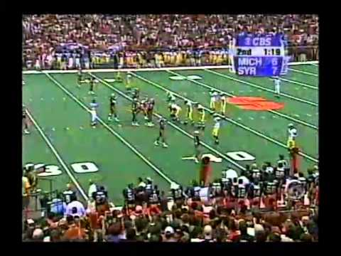 Game Played 9/18/99 at the Carrier Dome.