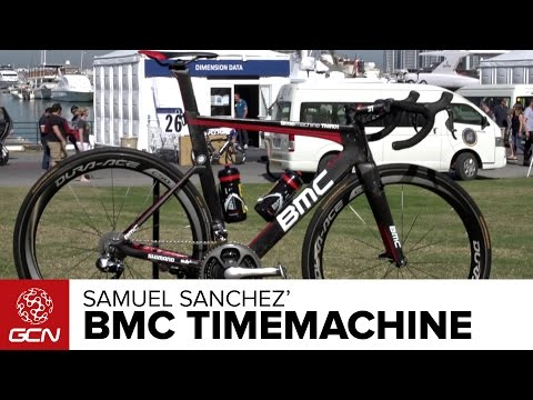 Samuel Sanchez' BMC Timemachine TMR01