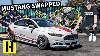 Mustang-Swapped Ford Fusion?? 5.0 Coyote V8 in a Sleeper Sedan