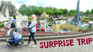 SURPRISE TRIP TO LEGOLAND  |  DAY OUT WITH KIDS #ad