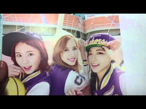 [Unboxing] TWICE 2nd mini album Page Two [CHEER UP] (BGM: I'm gonna be a star)
