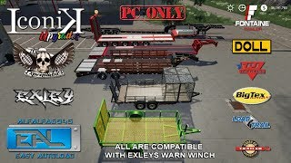 ICONIK TRAILERS PACK V2 FIRST LOOK   MOD SHOWCASE