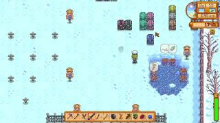 How I got a Periwinkle - Stardew Valley