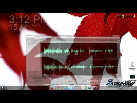 Como Mejorar La calidad de audio Quitar el ruido de fondo y limpiarlo en Adobe audition