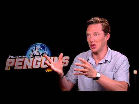 Benedict Cumberbatch Interview Penguins of Madagascar