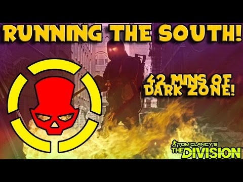 Running The South! (The Division) Rogue PvP Gameplay! (42 Mins)