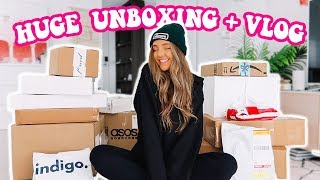 DATE NIGHT + HUGE UNBOXING ( Too Faced, Benefit, Clothing + More!! )