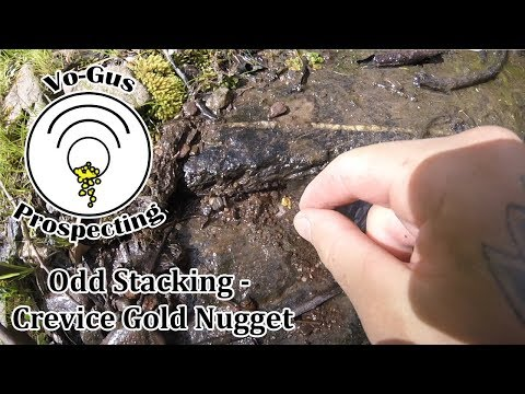 Odd Stacking - Crevice Gold Nugget