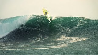 Windsurfing 20ft Waves in Chile - Jason Polakow and Robby Swift 2012