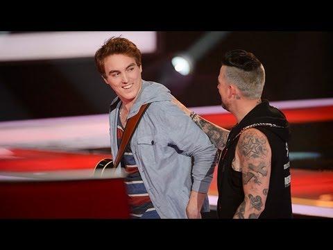 Chris Sheehy Sings One More Night: The Voice Australia Season 2 video