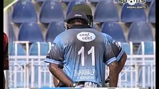 Faisal Mubashir brilliant batting against Hyderabad Haier T20 2015