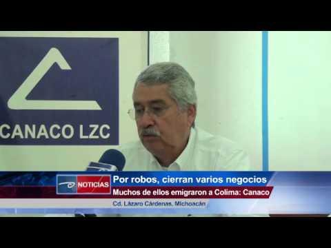 Por robos, cierran varios negocios Muchos de ellos emigraron a Colima: Canaco