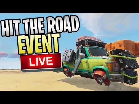 Fortnite - New HIT THE ROAD Event Live