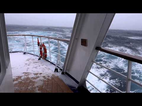 Caught in a Hurricane | Drake Passage | For More Dramatic Footage | Subcribe Now