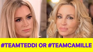 #RHOBH NEWS! Camille Grammer Is NOT Attending The Reunion, Fans Want Teddi Mellencamp Off The Show