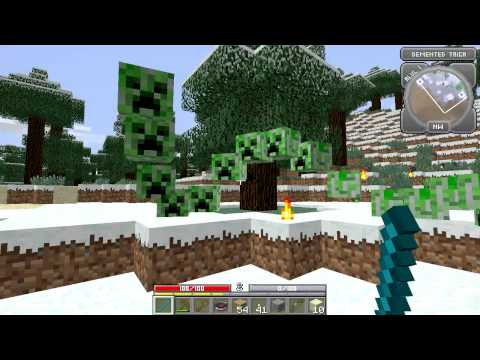 Minecraft: Hack/Mine Episode 1 Mage Power