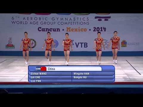 2014 World Aerobic Gymnastics Championships - Groups