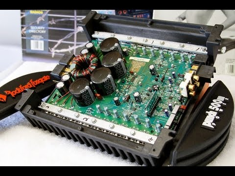 Rockford Fosgate Punch Power 500M DSM Amp Overview Old School Part 1