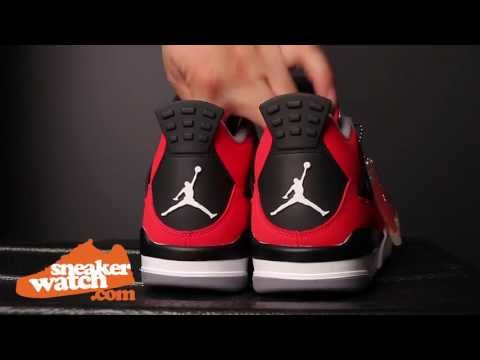 Air Jordan 4 Red Nubuck Review