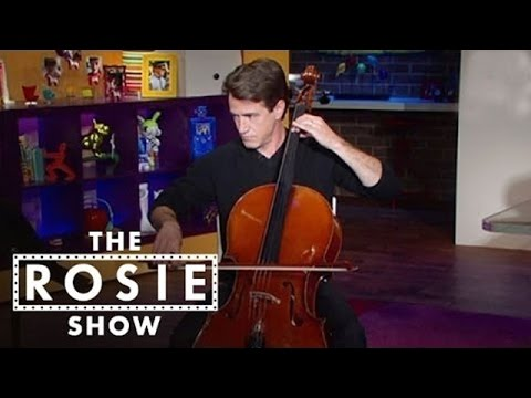 Dermot Mulroney Performs on the Cello - The Rosie Show - Oprah Winfrey Network