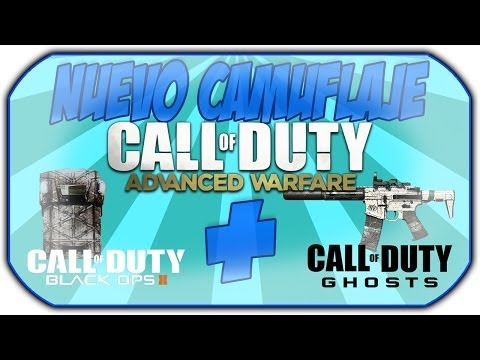 Como tener camuflaje Advanced Warfare en partidas publicas GRATIS! COD: Ghosts y BO2 [NUEVO]