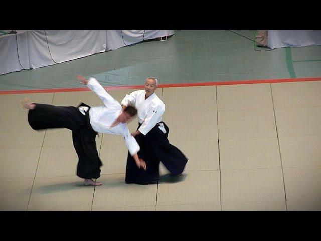 Aikido - Endo Seishiro Shihan - 51st All Japan Aikido Demonstration 2013