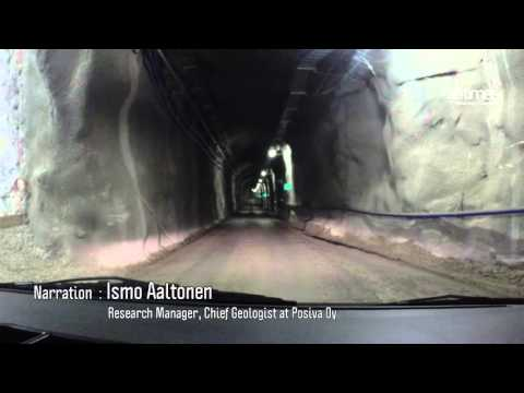 Inside Finland's Onkalo nuclear waste repository