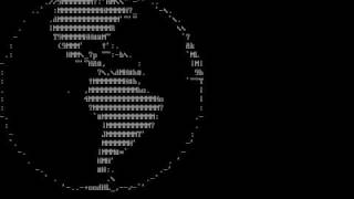 Spinning Globe ASCIImation