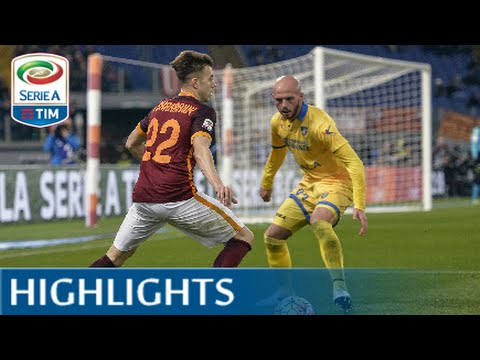 Roma-Frosinone 3-1 - Highlights - Matchday 22 - Serie A TIM 2015/16