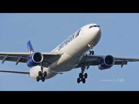 [HND/RJTT] Skymark Airlines Airbus A330-300 - スカイマークの新型機 エアバスA330-300が羽田-福岡線に初就航(2014年6月14日)