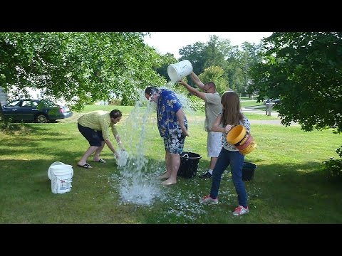 ALS Ice Bucket Challenge 6 Buckets!
