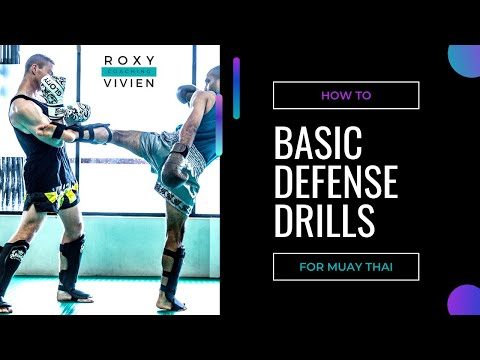 Beginner Muay Thai Kick Defense Drills Image 1