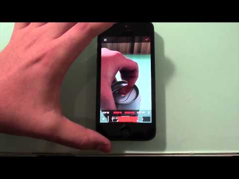 How to Film in Slow Motion on iPhone 5. 5C. 4S. 4. iPads/iPods - SloPro (Free!!)