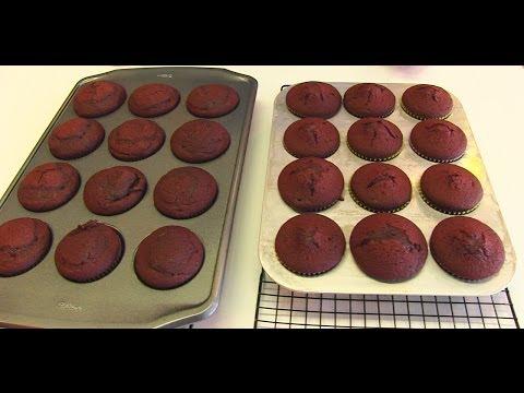 Romantic Red Velvet Cupcakes -- VALENTINE'S DAY ♥